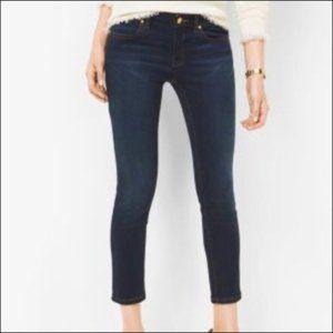 Michael Kors Izzy Cropped Ankle Skinny Jeans 14